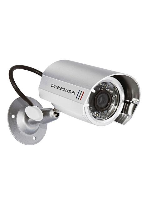 Smartwares Caydırıcı Sahte Kamera iç ve dışmekan LED lamba Alüminyum Gövdeli Renkli
